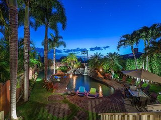 Private Home Oasis, South Maui, 4 Bedroom, Ocean Views, Pool With Hot Tub