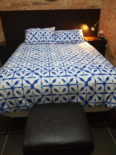 Queen bed in bedroom two for you to totally relax