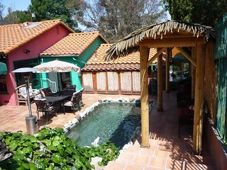 *SPANISH HACIENDA celebrity estate guest house. Gated/.resort/pet/spa/pool/BBQ