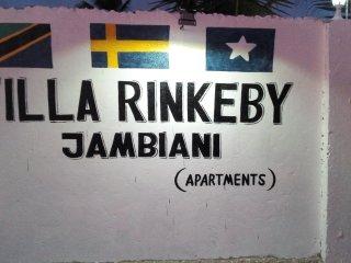 Villa Rinkeby Jambiani Zanzibar
