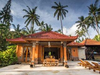 Beautiful beach side villa
