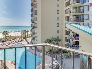Beachfront condo w/ shared pools and tennis court, private beach, & more!