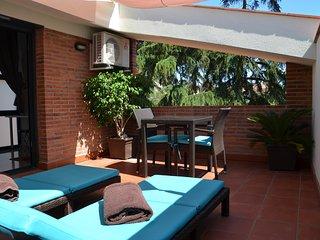 Apartamento con terraza playa Costa Barcelona