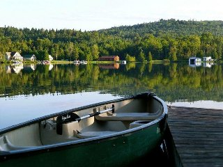 Joe's Pond Vermont Lakefront cottage with gorgeous views!