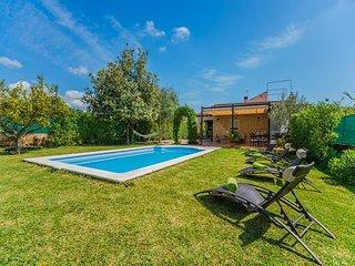 4 bedroom Villa in Lloseta, Mallorca, Mallorca : ref 4580