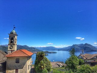 Small villa Gigliola with lake view in Campino, Stresa