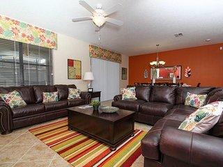 Luxurious 9 Bedroom Pool Home In ChampionsGate Resort Sleeps 22. 1410WW