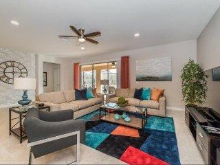 Elegant 8 Bedroom 5.5 Bath Pool Home in Windsor at Westside. 8820MAC