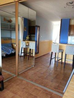 Armario doble puertas espejo