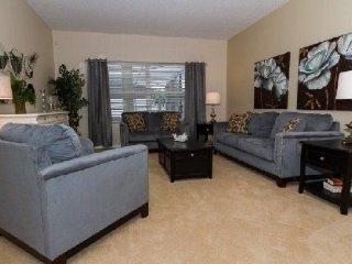 5 Bedroom 3 Bath Pool Home in Gated Community Near Disney. 866SD