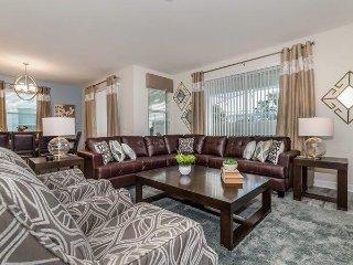 1638MVD. Gorgeous 6 Bedroom 5 Bath Pool Home In ChampionsGate Golf Resort