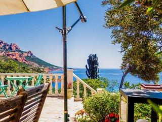 Villa individuelle vue mer et plage a pied - Antheor
