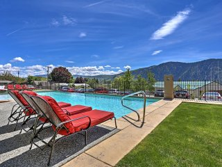 NEW! 2BR Manson Condo at Lake Chelan w/Pool!