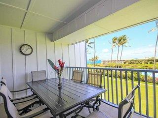 Poipu Sands 222 OCEAN VIEW 2bd/2bath, Pool, tennis courts. Free mid-size car.