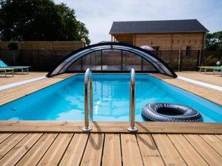 Cottages 5 personnes avec piscine chauffée