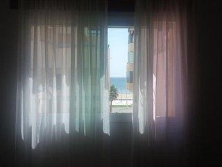 Appartement avec vue sue la plage, très frais pendant l'été!