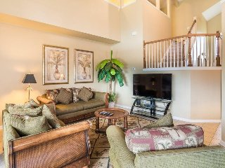8113SPD. Tommy Bahama Themed 6 Bedroom Pool Home in Gated Resort