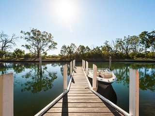 Our private jetty--perfect for fishing