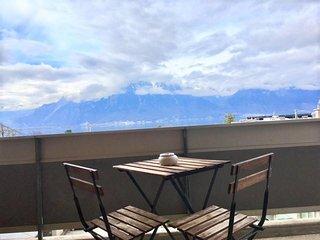 Ap.t 2.5 vue lac, Montreux,  Clarens