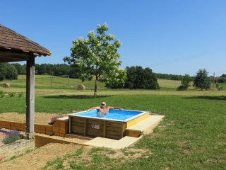 Newly completed plunge pool for your exclusive use