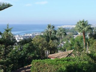 Great andalusian villa with sea view in Marbella