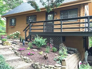 Serenity Cabins - Rustic, modern cabin w/fireplace, pool table & wifi