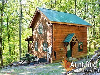 Private Wears Valley Cabin with Hot Tub and Porch Swing