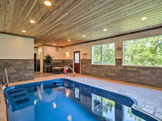 2BR Pigeon Forge Cabin w/Indoor Pool!
