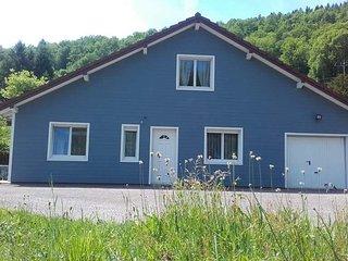 C est une maison bleue......