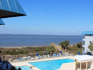 Savannah Beach & Racquet Club - Unit B318 - Water View - Swimming Pool - Tennis