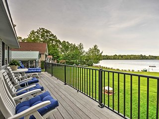 You'll love the view of McGrath Pond from the deck.