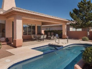 RENT REDUCED!! Beautiful home on the green in the Sedona Golf Resort with a