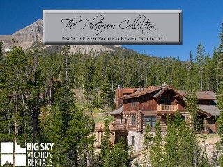 Big Sky Resort | Powder Ridge Cabin 7 Manitou