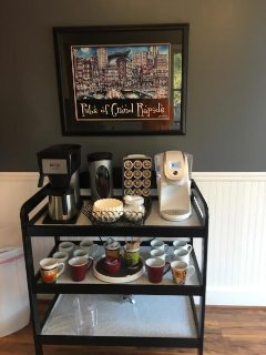 Do you like coffee and tea as much as we do?  You'll love the selection we provide!