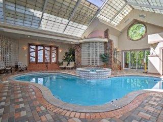 Lavish Cincinnati Home w/Indoor Pool, Spa & Bar!