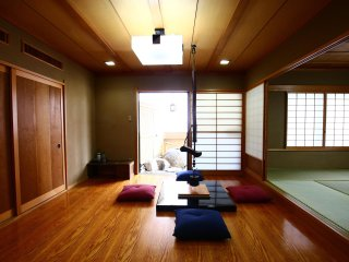 Family stay at  Spacious  Nippori Penthouse, 165m2 for 12 guest