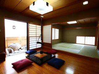 Family stay at  Spacious  Nippori Penthouse, 165m2 for 10 guest