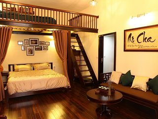 Central Swanky Loft Fully-furnished Private Apt. in the heart of Hanoi
