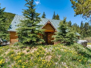 3BR Cabin on River w/ Private Deck & Fire Pit – 3 Miles to Breckenridge