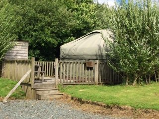 Mongolian Yurt set in beautiful Devon countryside only 8 miles from Bude