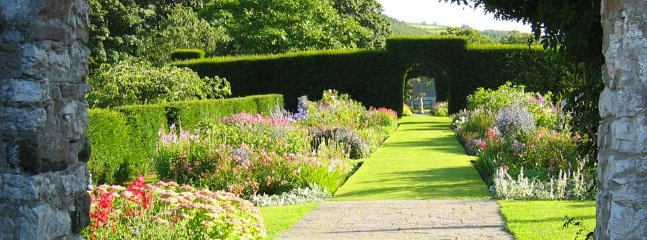 Glenarm Castle walled gardens