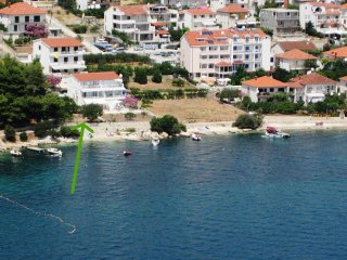 Ap. Ivona, top location 5 meters to the beach! New swiming pool open in 2019!