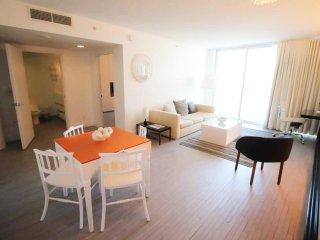 5 star Mondrian * stunning 1 bed * balcony * view * sleeps 4