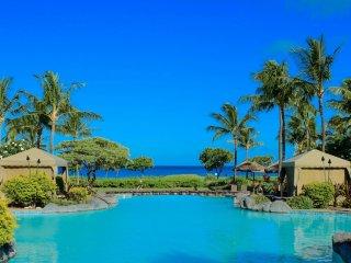 Maui Resort Rentals: Honua Kai Konea 402 – Direct Ocean Front 3BR w/ B.B.Q on Wr