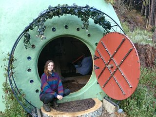 Magic Underground Hobbit Hole at MMV Ecovillage