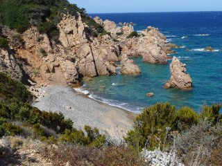 Rural Sardinia! Cottage-Apartment, Great Sea Views And Nearby Beach