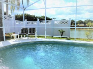 Lake Palms Villa Wonderful Lake View Orlando Vacation Rental Pool Home