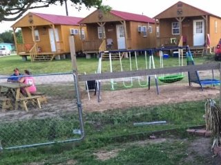 JJB Cabins at Matagorda Beach (Shark Tank)