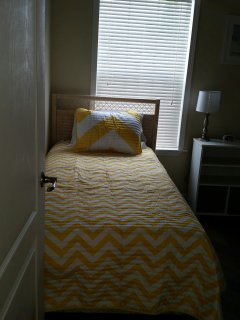 2-twin beds in the second bedroom