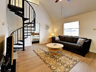 Hip Downtown Condo with Loft – Minutes From History, Hiking and Dining